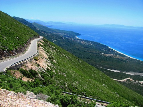 Adriatic Coast of Albania, Road To the Pass