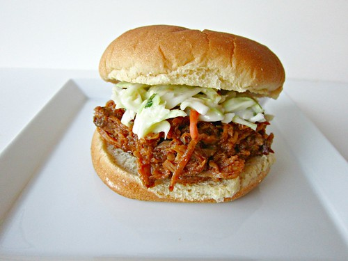 Cherry Chipotle Pulled Pork with Cilantro Lime Slaw 3