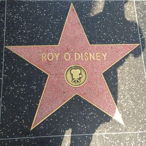 ロイ・ディズニー。