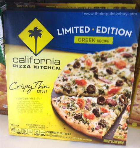 Limited Edition California Pizza Kitchen Greek Recipe