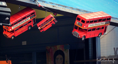 bus rouge londres
