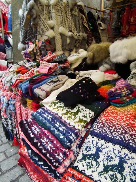 Knit market - Tallinn, Estonia