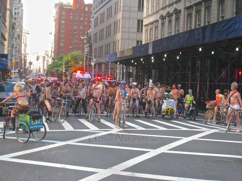 naturist 0001 World Naked Bike Ride 2013, New York, USA