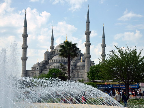 Blue Mosque, Istanbul by Shifting sands
