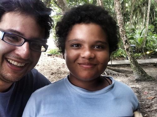 JotaPe y Ismael Brown