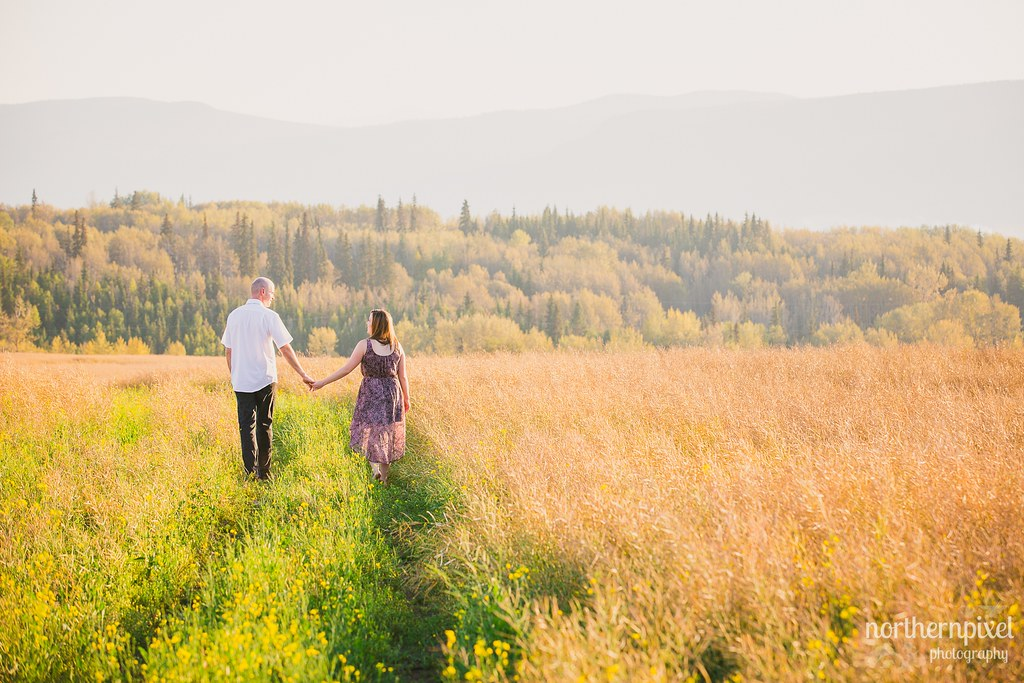 Des & Karl's Engagement Session, Smithers BC