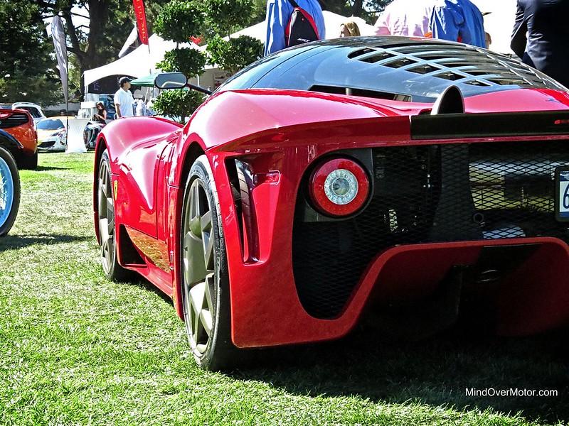 Ferrari P4/5 by Pininfarina at The Quail