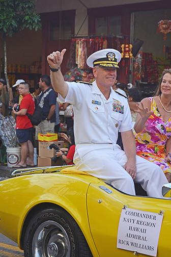 Rear Admiral Richard Williams
