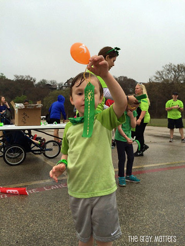 Tot Trot Finisher