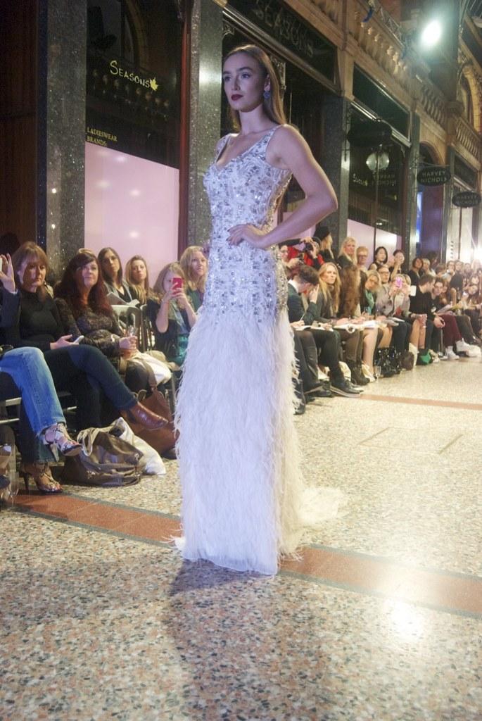 harvey nichols a/w fashion show