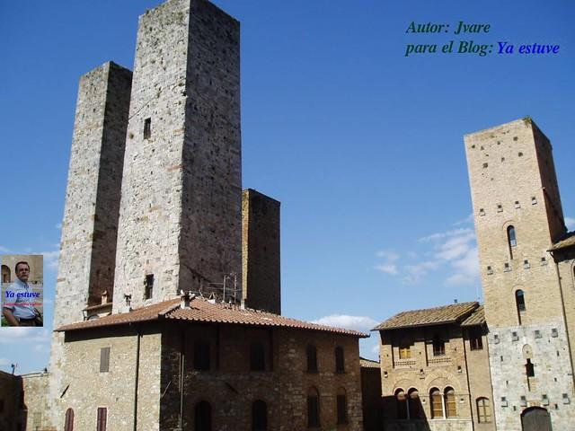 Torres medievales de San Gimignano