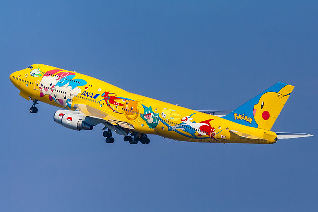 JA8957 ANA POKEMON TOYKO HANEDA JAPAN