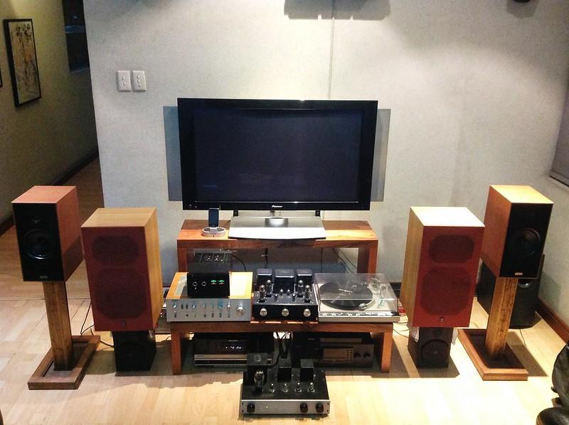 My Living Room Audio Setup