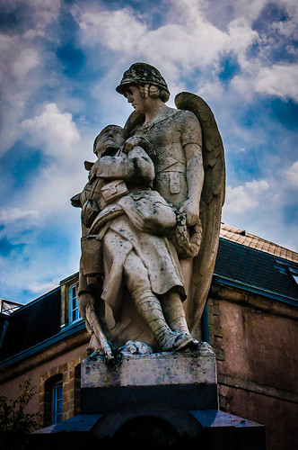 Stenay, France.  World War I WWI Monument,