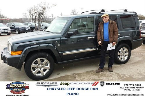 Amazing Thank You To Cevat Kayakol On Your New 2008 #Jeep #Commander From Ruben  Perez And Everyone At Huffines Chrysler Jeep Dodge RAM Plano!