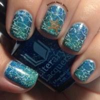 Literary Lacquers Ocean Nail Art | Newsie Nail Novice