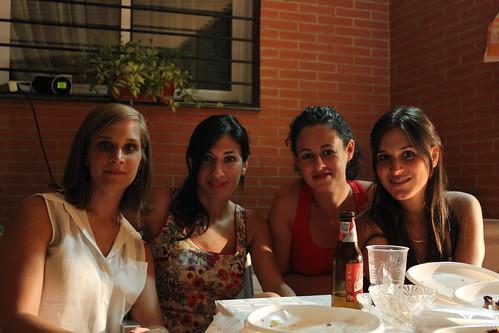 Espe, Mirian, Marini y María