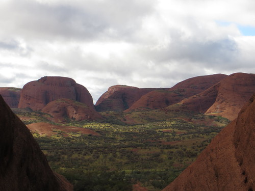 view at the olgas
