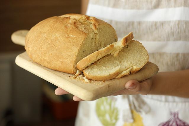 Vegan Rosemary Bread   #veggieangie