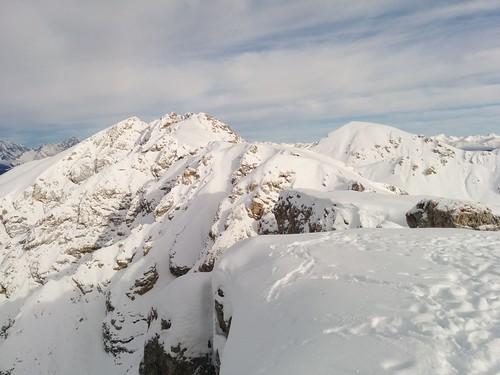 Gipfelausblick Großer Jaufen Pragser Dolomiten