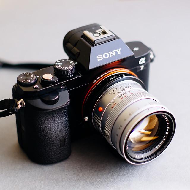 Sony A7 + Leica Summilux 1.4/50 pre-asph