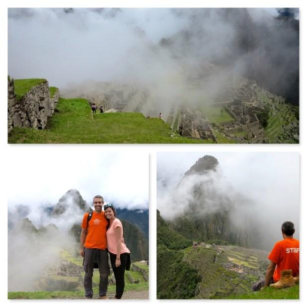 Machu Picchu nublado
