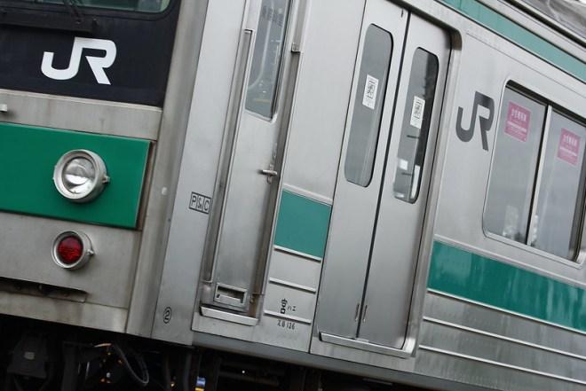 埼京線205系ハエ13編成 海外譲渡輸送
