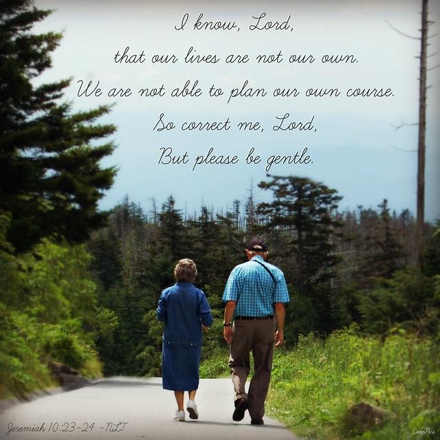 Jeremiah 10:23-24