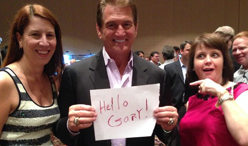 me, Joe Theismann, and Angie