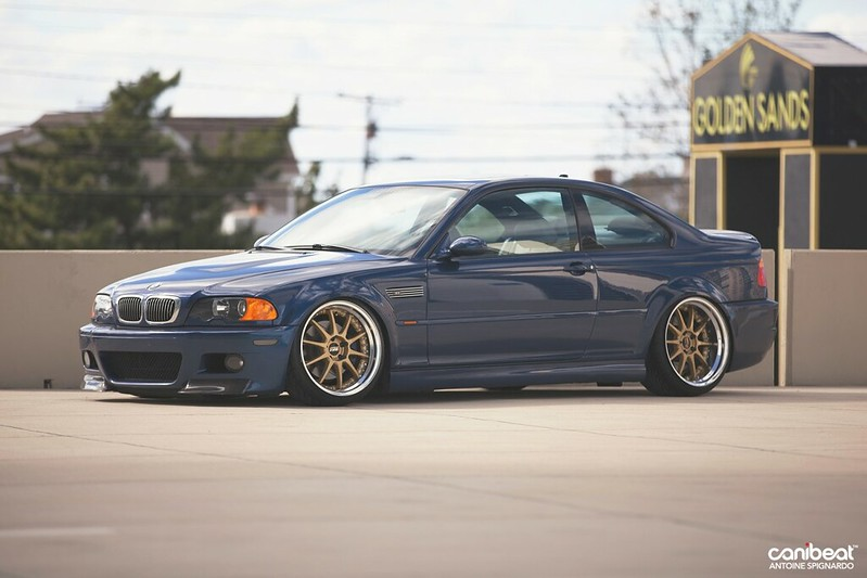 E46 FS 2004 BMW E46 M3 Mystic Blue On Gray 6spd NJ