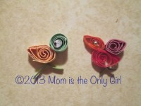 quilling with children