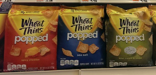 Wheat Thins Popped