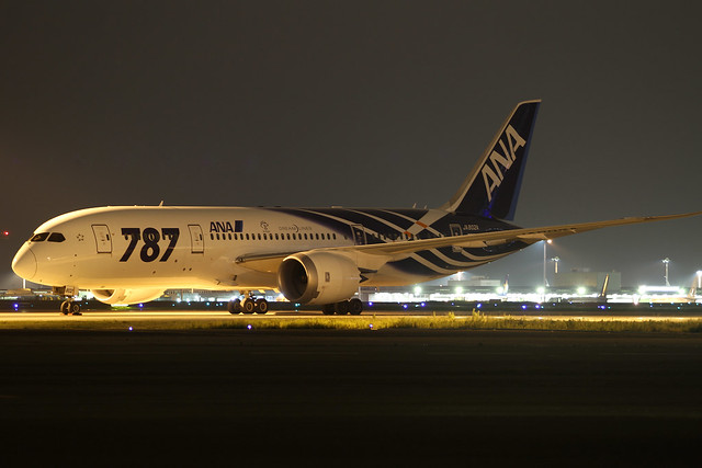 ANA B787-8(JA802A) Dreamliner