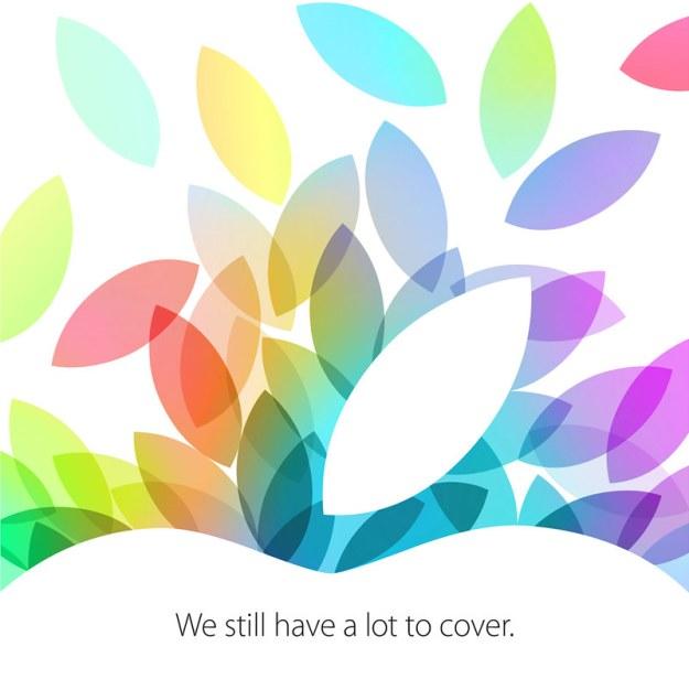 La invitación. Confusa y misteriosa, como es habitual en Apple.