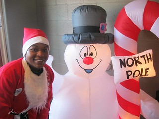 Arlene and Frosty