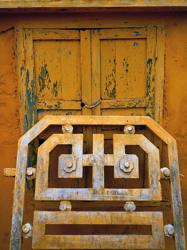 Yellow Doors in Hoi An Ancient Town