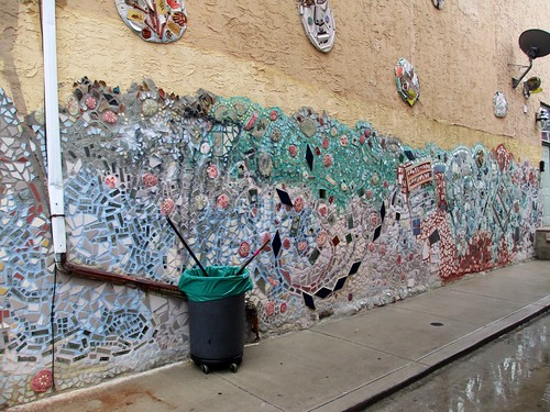 Murals by Isaiah Zagar in Philadelphia, Pa.