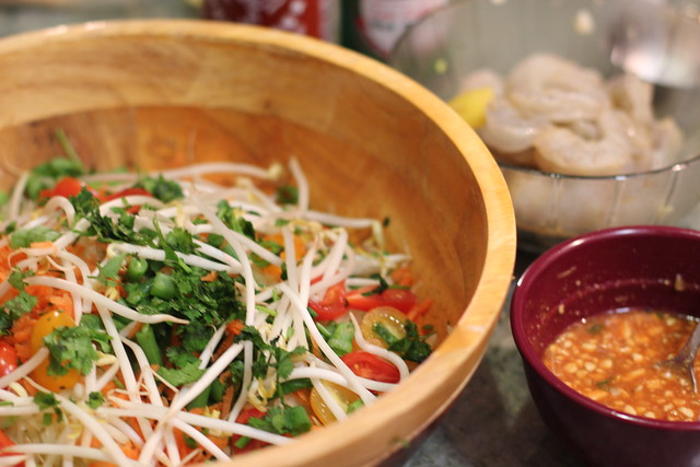 Vegetarian Thai Green Papaya Salad