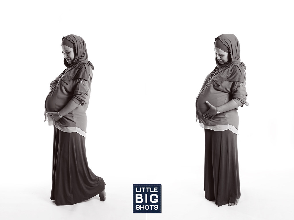 Soon to be Five | Maternity Studio Portraiture