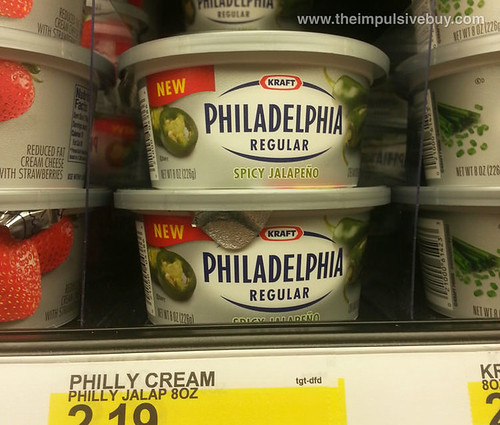 Kraft Philadelphia Spicy Jalapeno