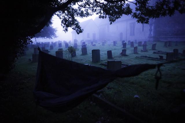 Cemetery campsite