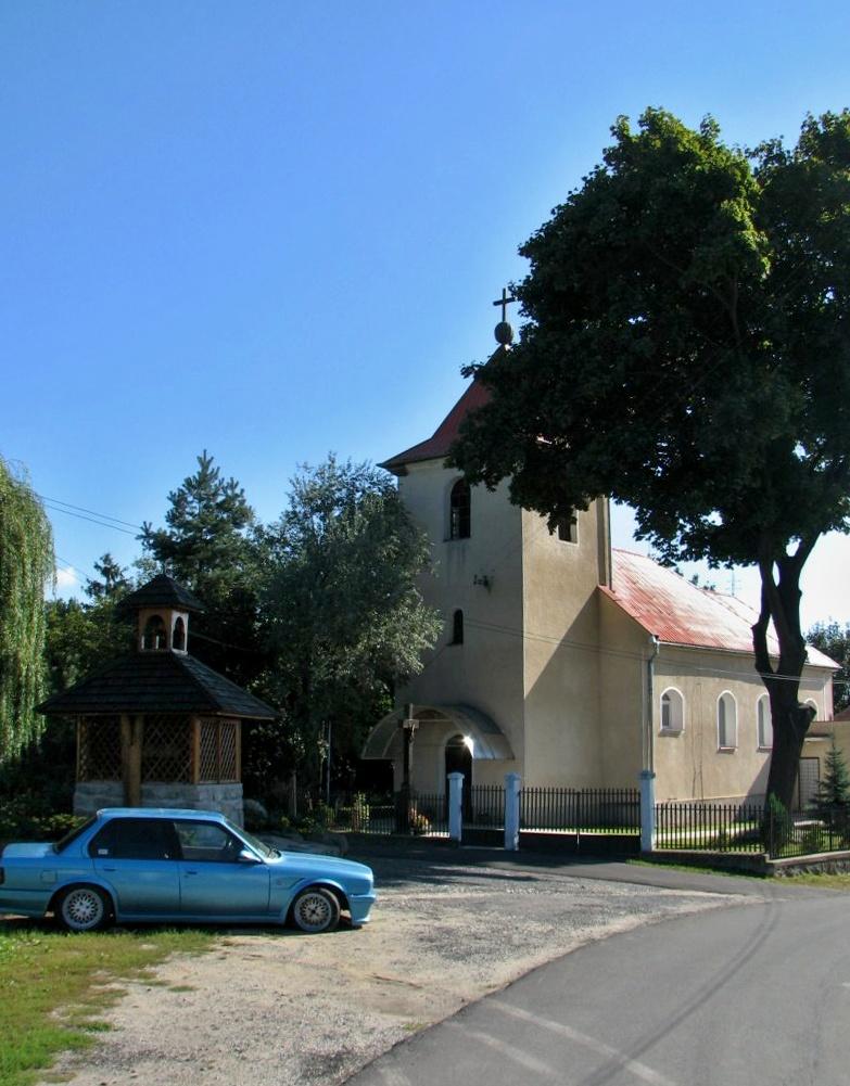 Kostol v Kleňanoch
