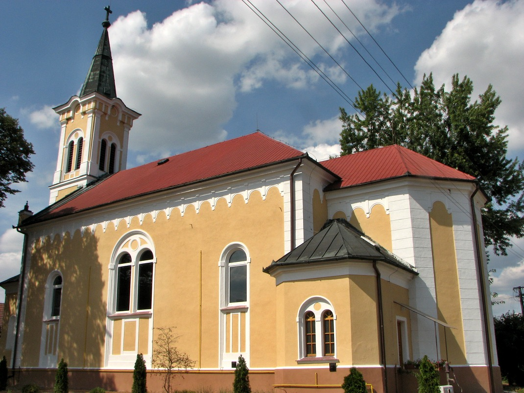 Kostol v Ip. Predmostí dnes