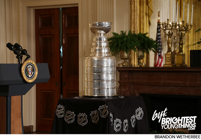 Chicago Blackhawks Visit the White House and President Obama   11/04/13