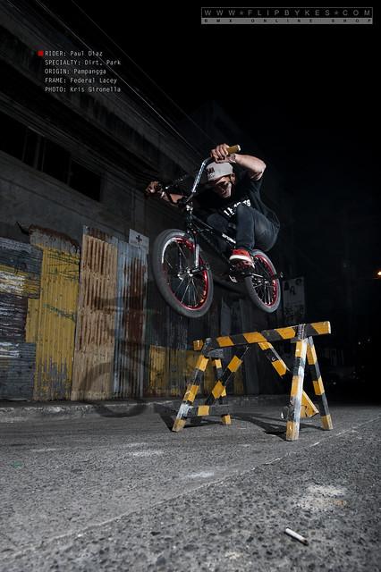 Flipbyeks Team Rider - Paul Diaz (BMX Dirt/Park)