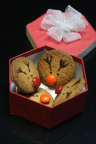 reindeer X'mas cookies