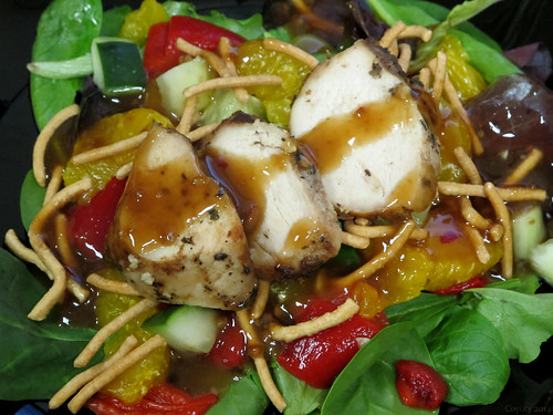 Asian chicken salad by Coyoty