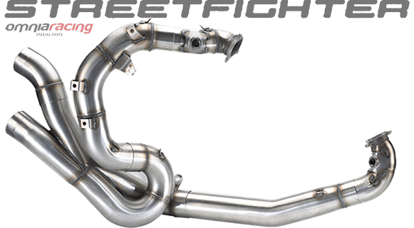 Termignoni 2:2 Steel Racing Manifold Kit Ducati