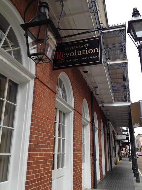 Restaurant R'evolution, New Orleans LA