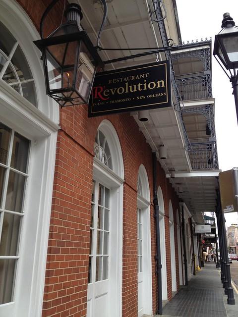 Restaurant R'evolution, New Orleans LA